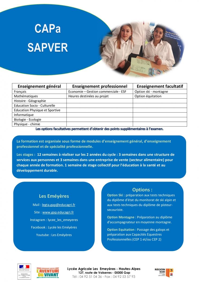 CAPa SAPVER SCO